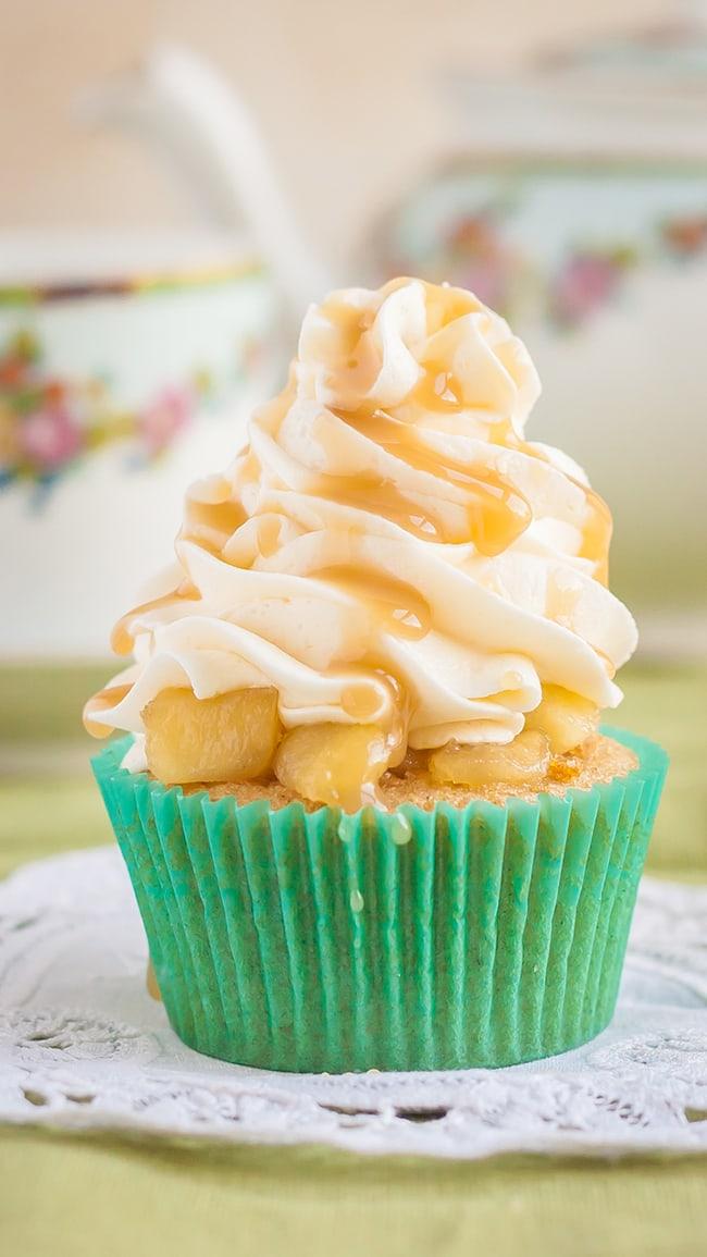 Gluten Free Apple Pie Cupcakes   Noshtastic