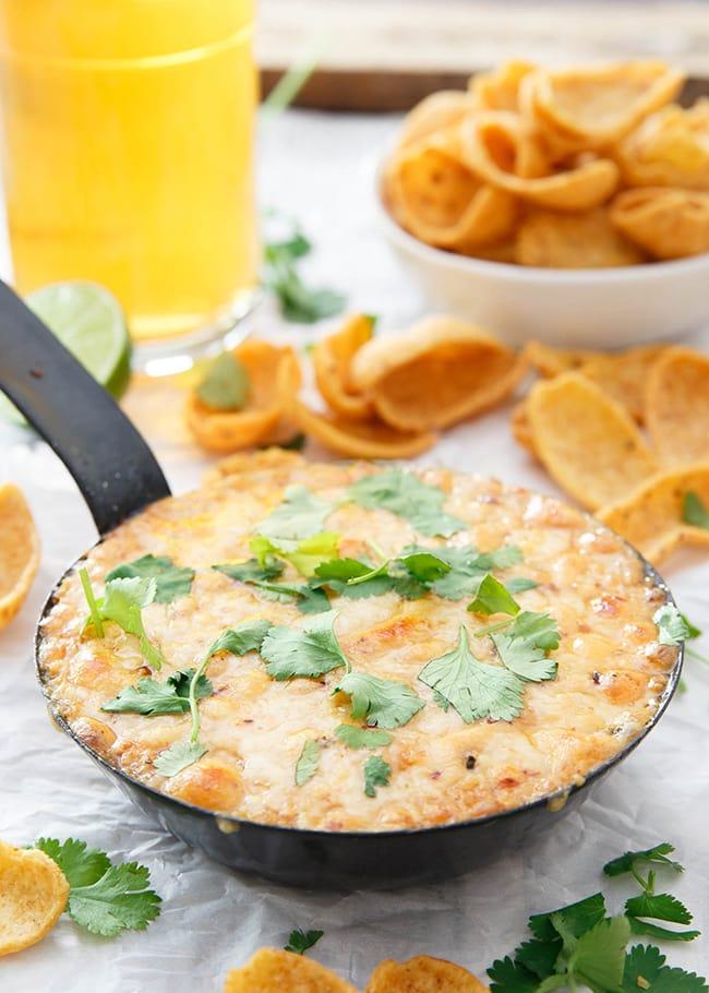 Chipotle Hummus Fundido | Running to the Kitchen