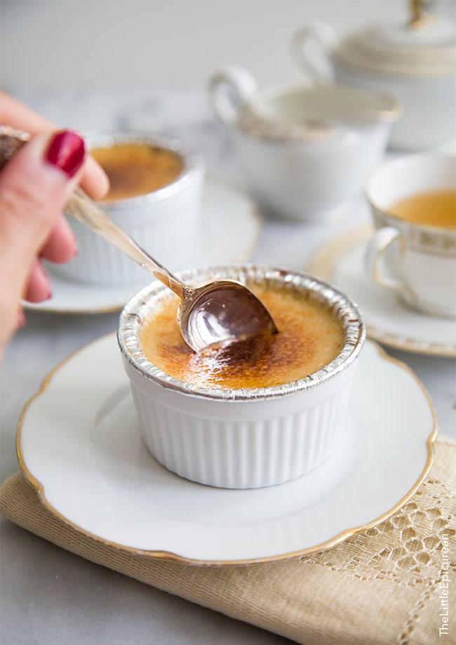 Slow Cooker Creme Brûlée | The Little Epicurean