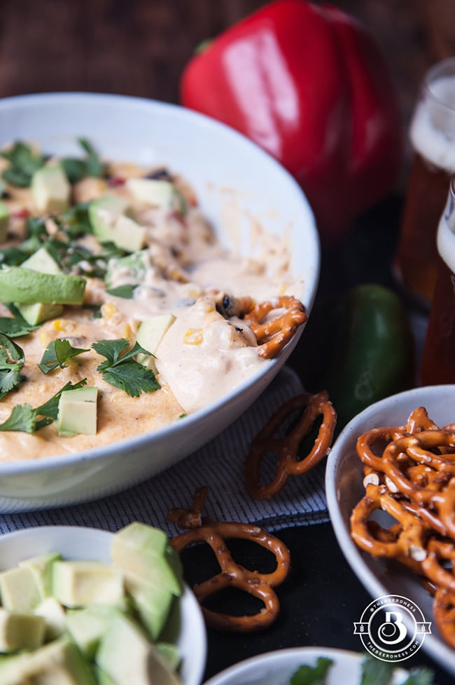 Southwest Beer Cheese Dip | The Beeroness