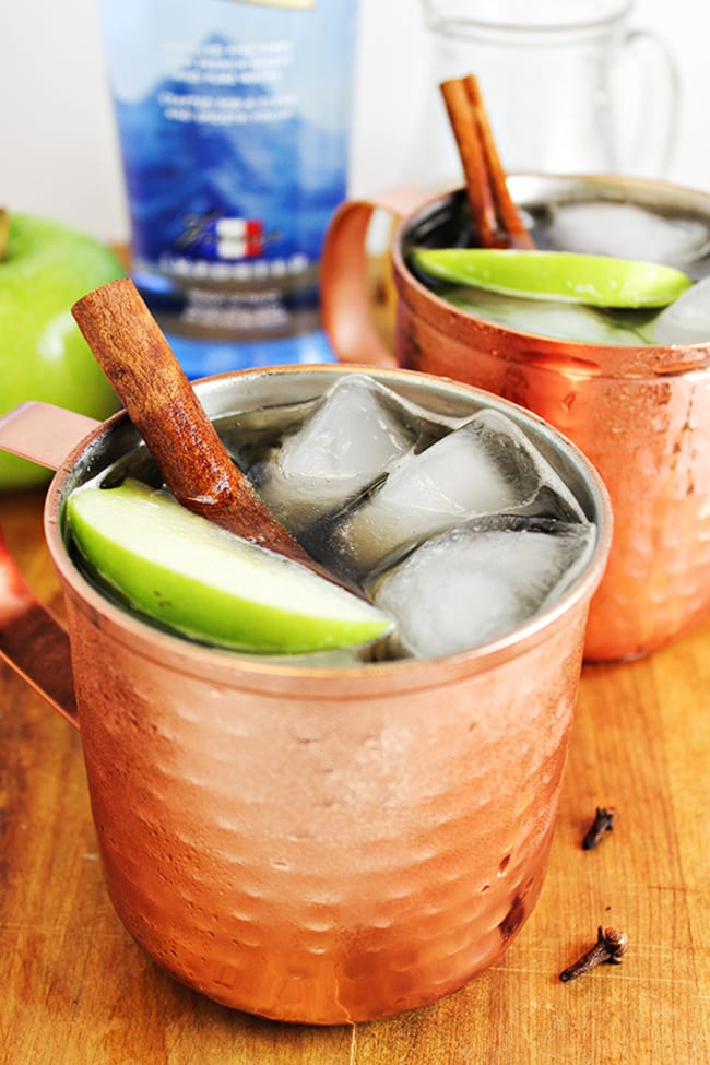 Spiced Apple Moscow Mule | Home Cooking Memories
