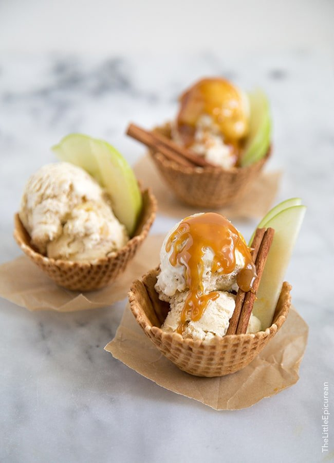 Apple Pie Ice Cream | The Little Epicurean