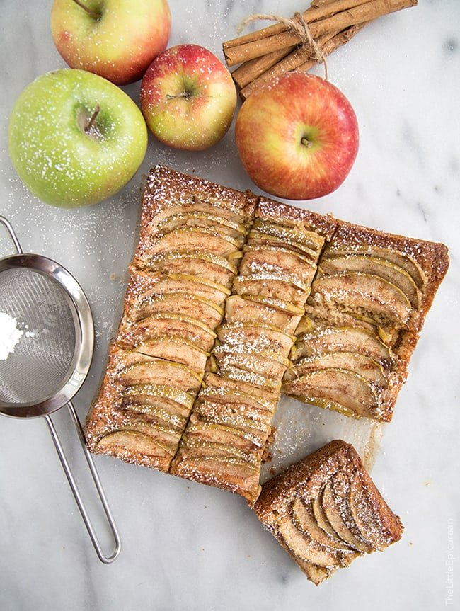 German Apple Cake | The Little Epicurean