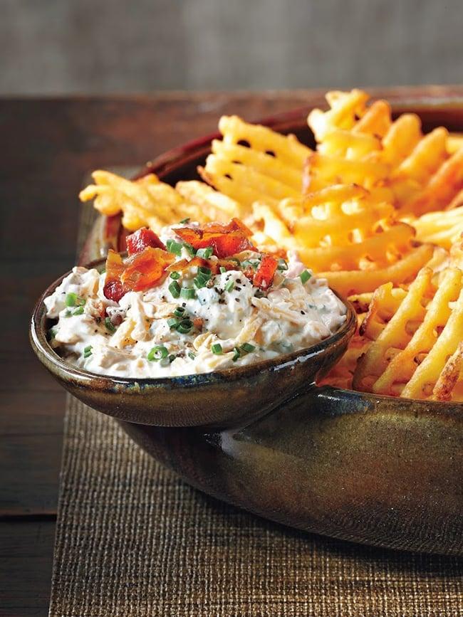 Loaded Baked Potato Dip | Melissa's Southern Style Kitchen