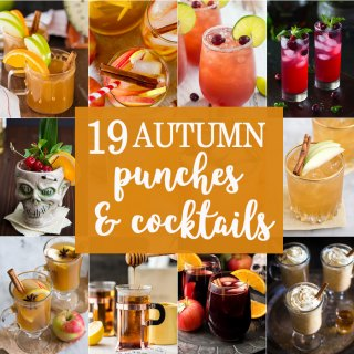 19 Autumn Punches and Cocktails