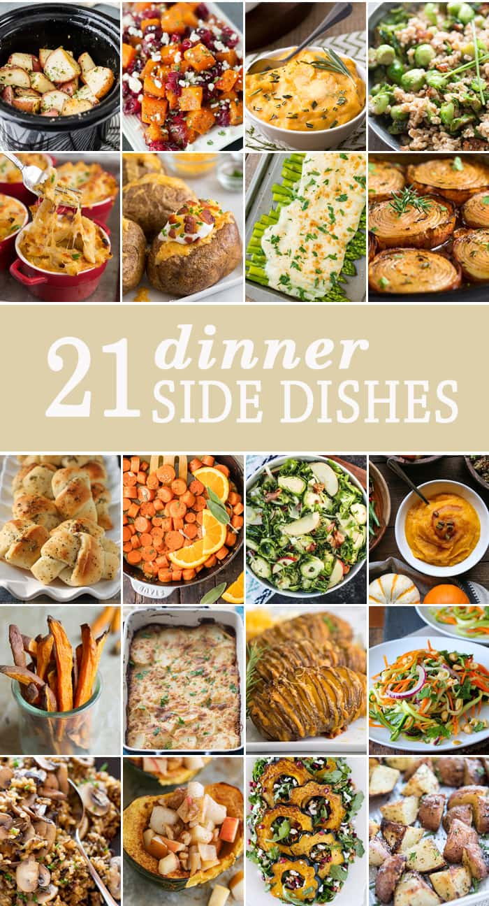 Pleasing 10 Dinner Side Dishes The Cookie Rookie Download Free Architecture Designs Scobabritishbridgeorg
