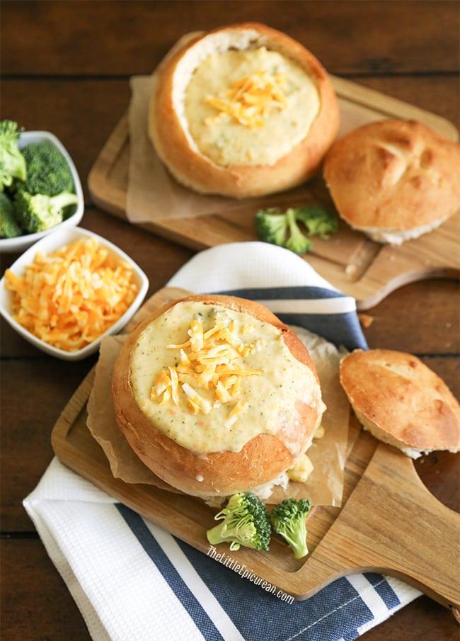 Cheddar Broccoli Soup | The Little Epicurean