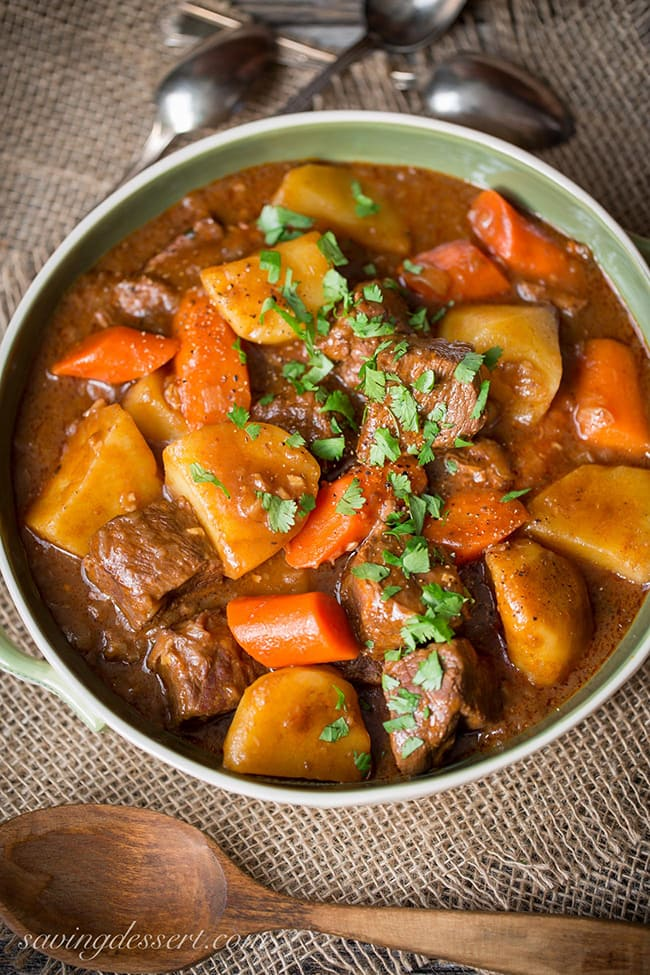 Guinness Beef Stew | Saving Room For Dessert