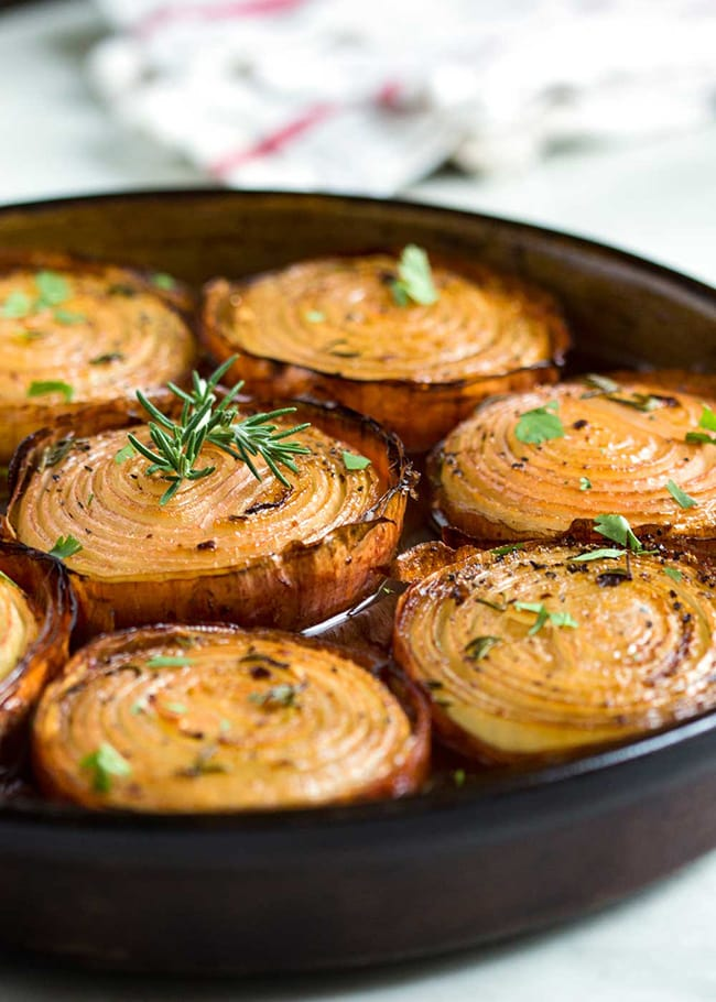 Marinated Slow Roasted Onions | Kevin is Cooking