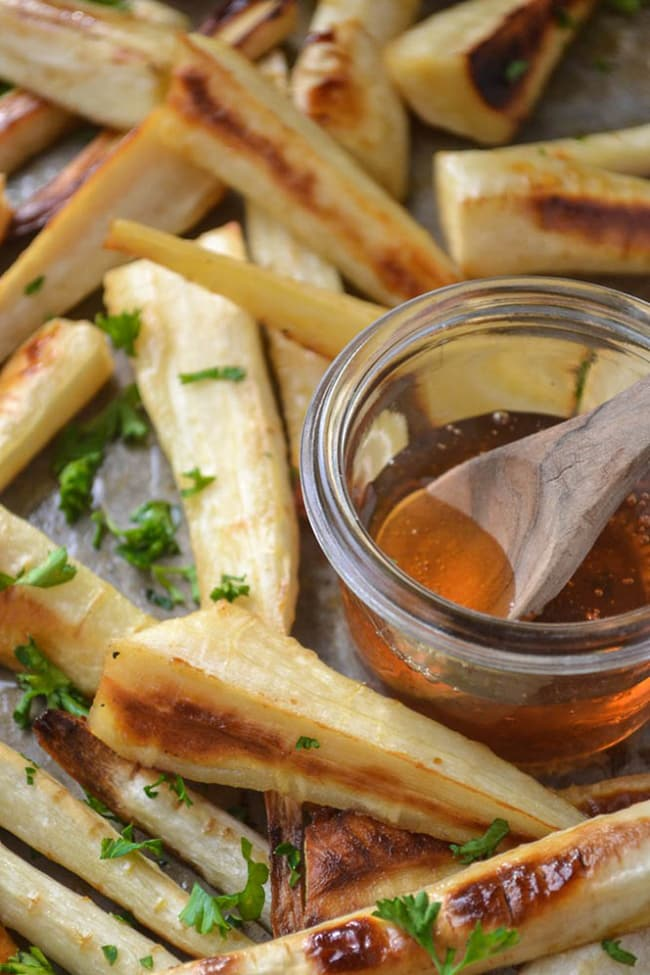 Honeyed Parsnips | The View From Great Island
