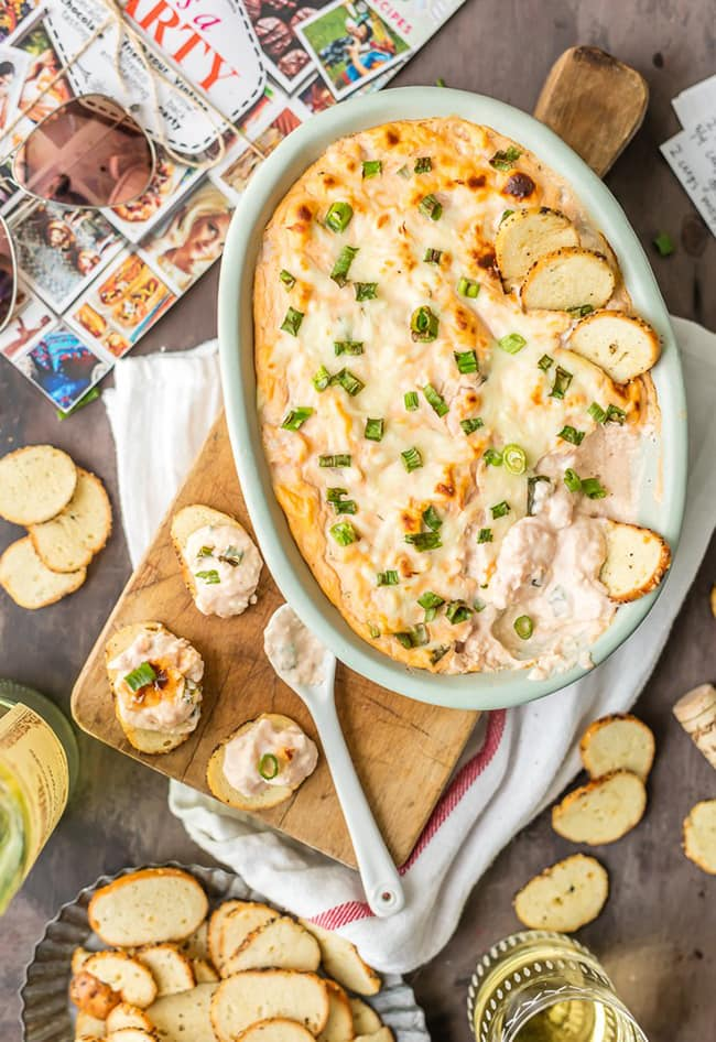 Hot Shrimp Cocktail Dip | The Cookie Rookie