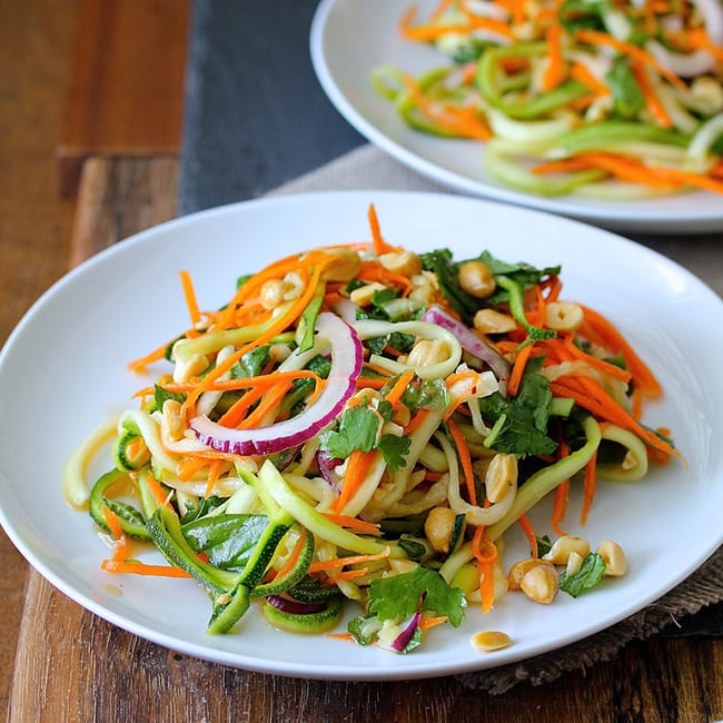 Vietnamese Zucchini and Carrot Salad | Karen's Kitchen Stories