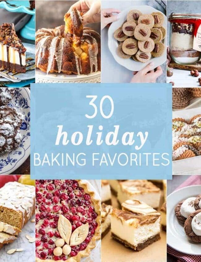 30 Holiday Baking Favorites