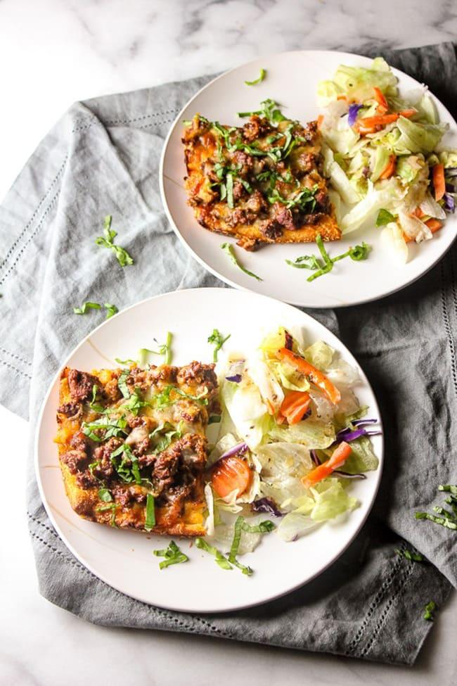 Deep Dish Pizza Casserole | Lisa's Dinnertime Dish