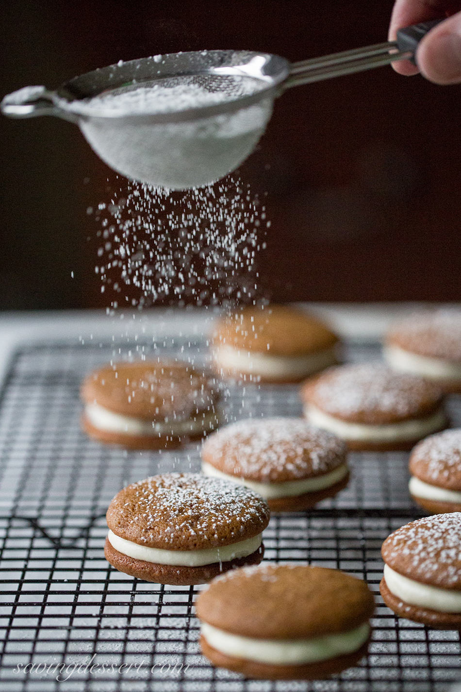 Gingerbread Whoopie Pies | Saving Room for Dessert