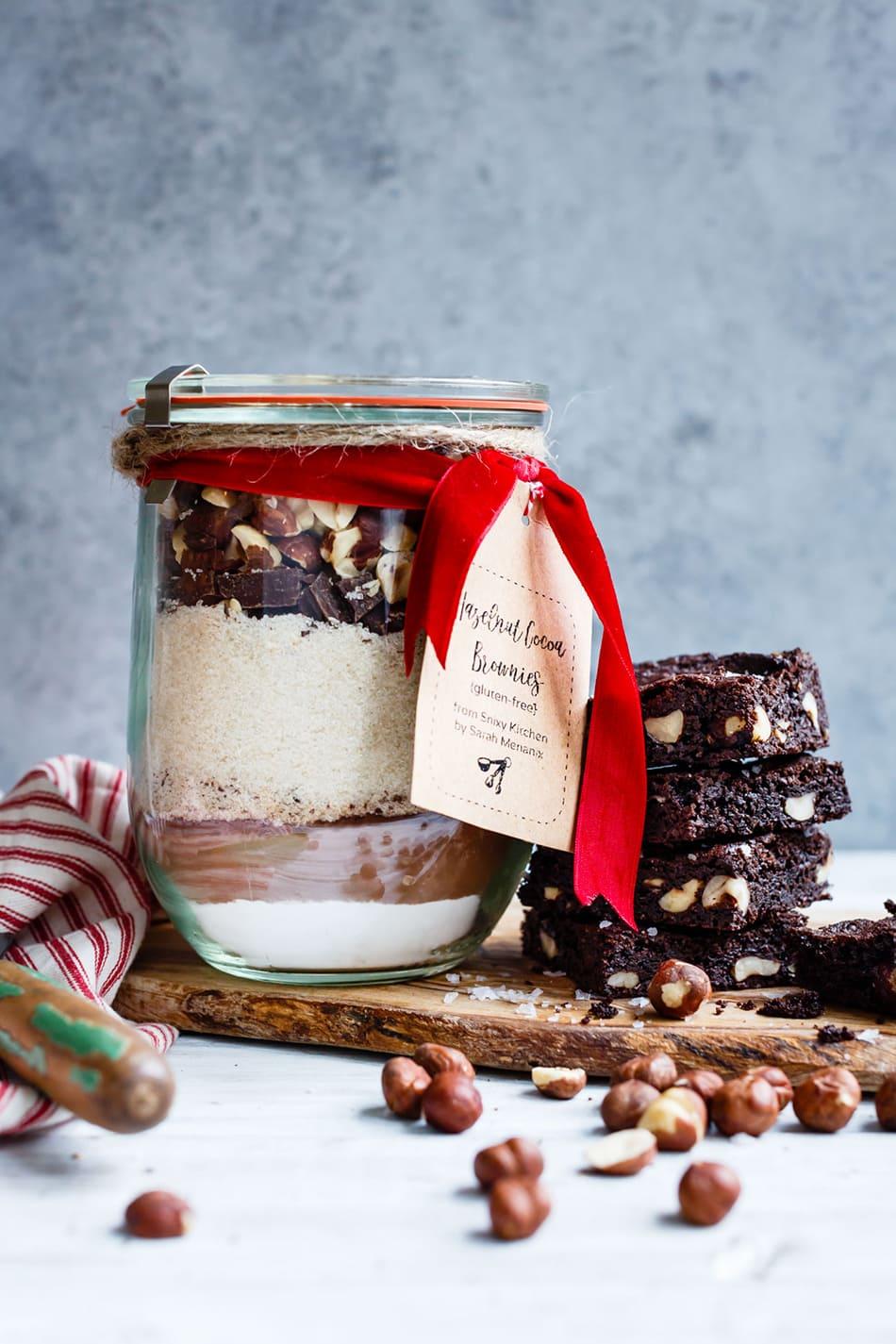 Gluten-Free Hazelnut Brownie Mix | Snixy Kitchen