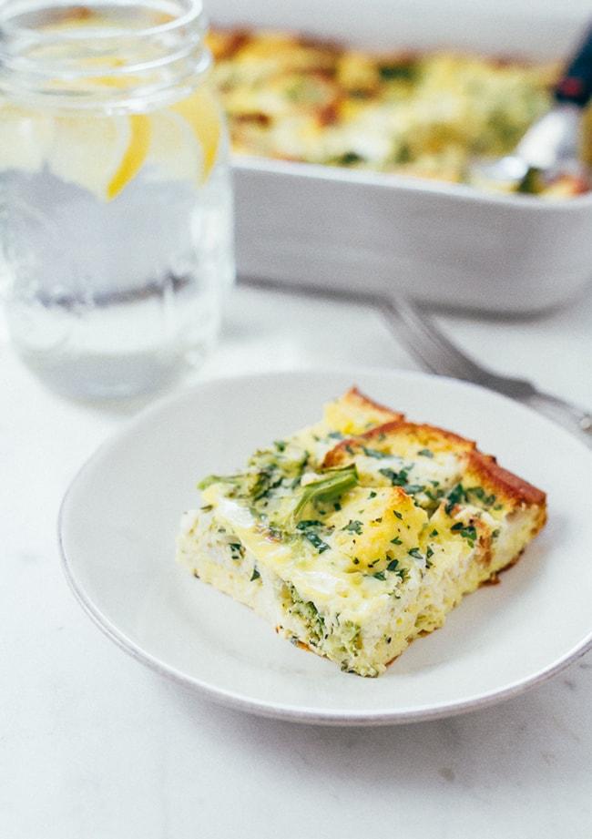 Make Ahead Healthy Breakfast Casserole | Eating Bird Food