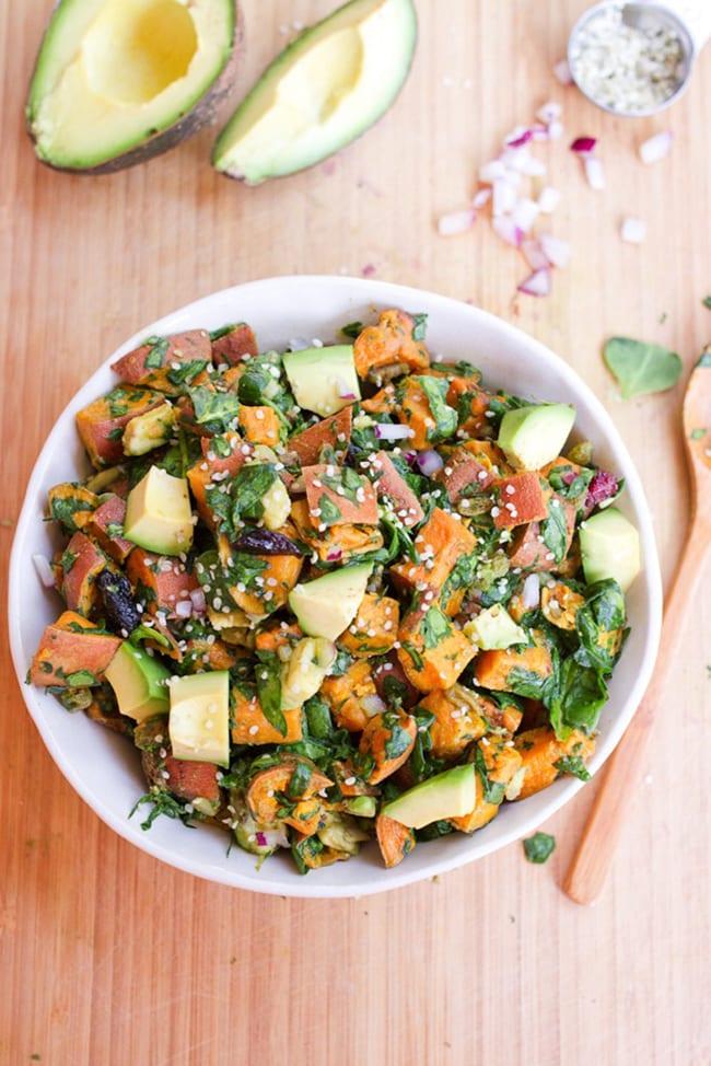 Roasted Sweet Potato Salad | Eating Bird Food