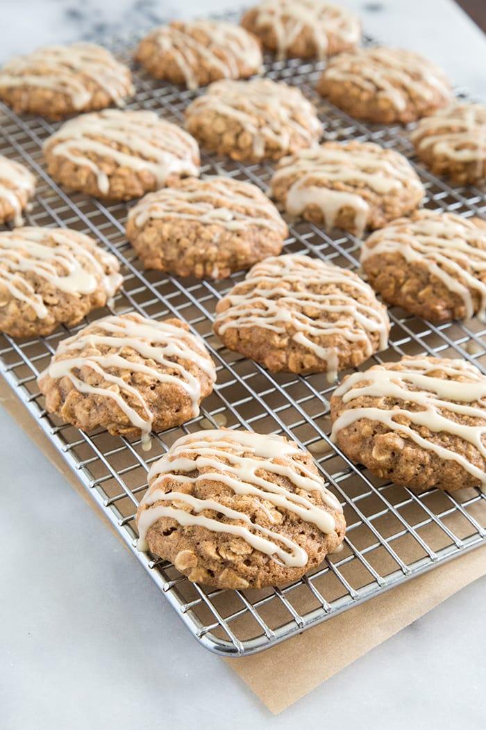 Apple Walnut Oatmeal Cookies | The Little Epicurean