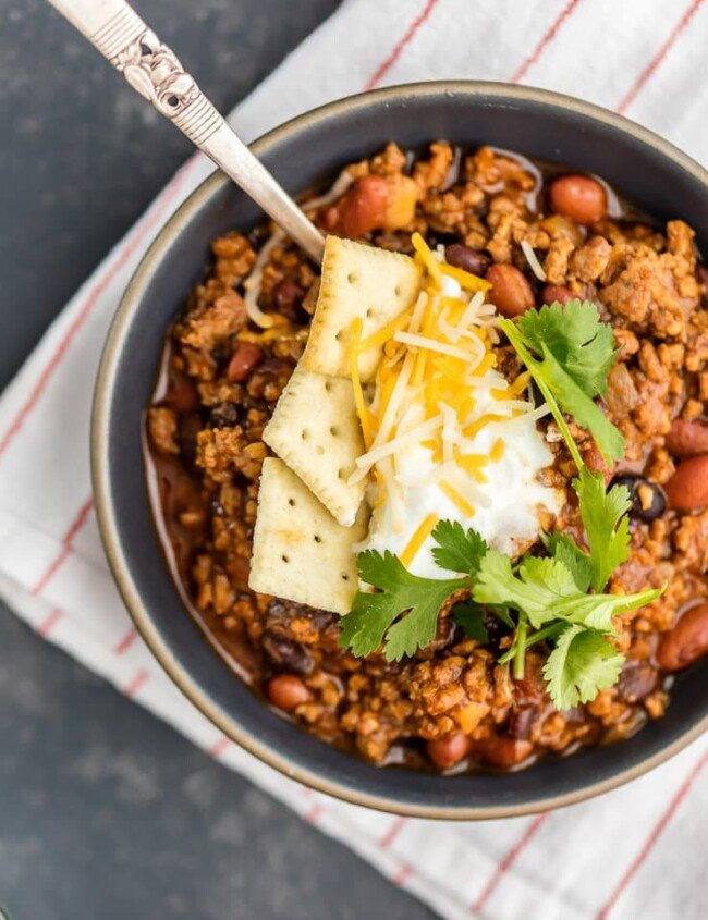 Best Ever Chili Recipe | The Cookie Rookie