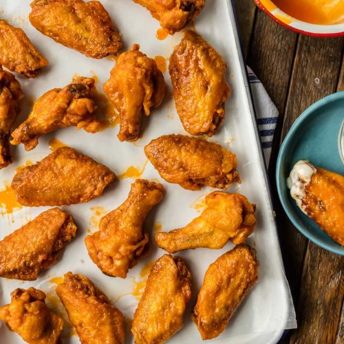 How To Make THE BEST BUFFALO WINGS RECIPE