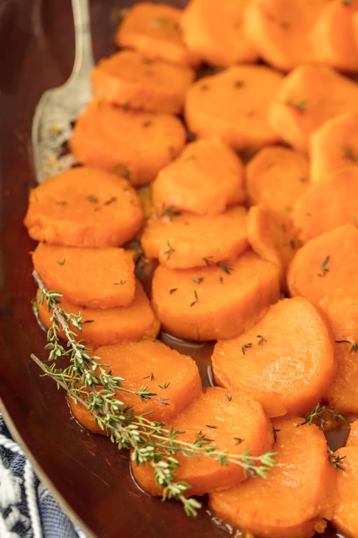 Easy Candied sweet potatoes for Thanksgiving