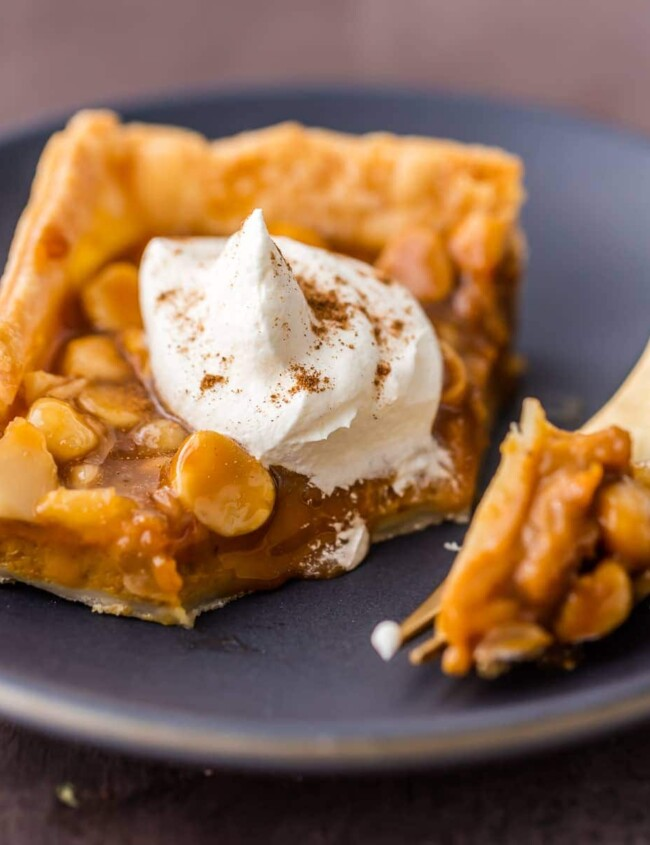 Pumpkin Pie Bars are just another great way to enjoy pumpkin during the fall season. These Caramel Macadamia Nut Pumpkin Pie Bars are truly heaven on Earth! These easy pumpkin bars are a twist on a classic that will be the absolute WINNER on your Thanksgiving Menu!