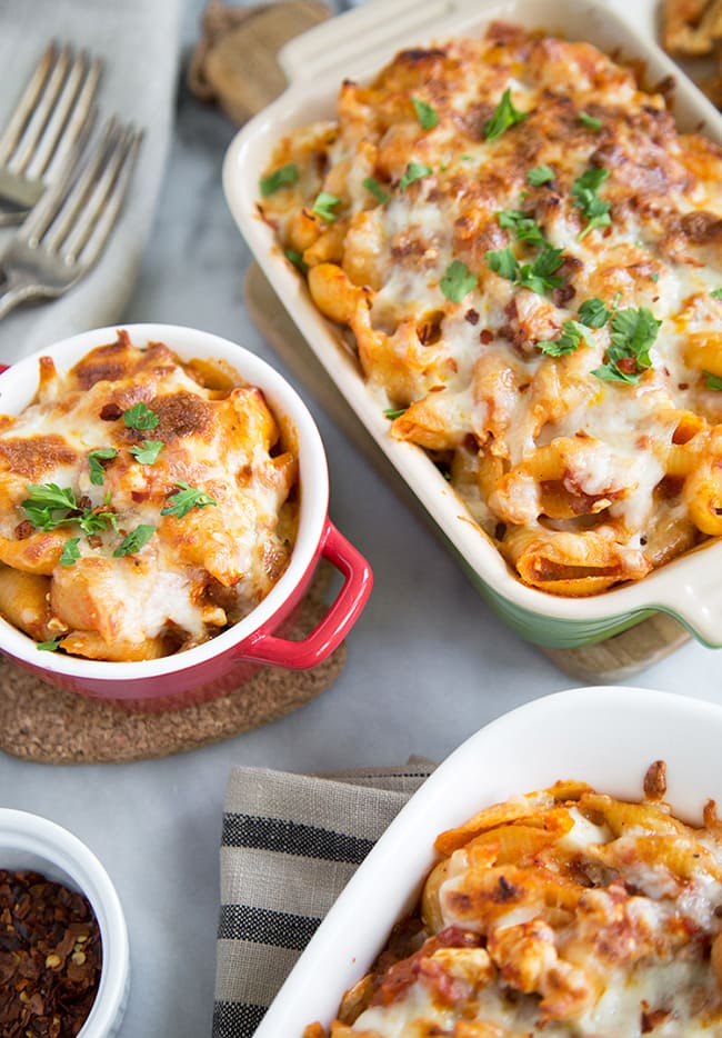 Cheesy Baked Pasta | The Little Epicurean