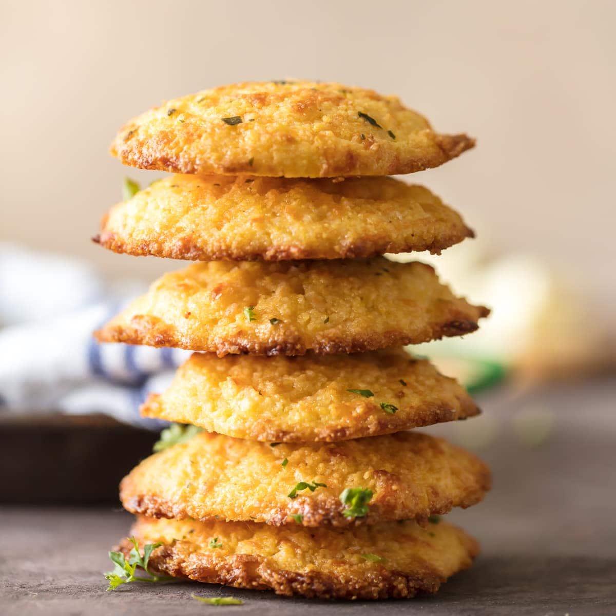 Garlic Cheesy Cornbread Drop Biscuits (Easy Cornbread Recipe)