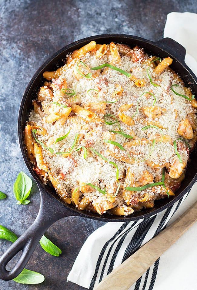 Chicken Parmesan Casserole | The Blond Cook