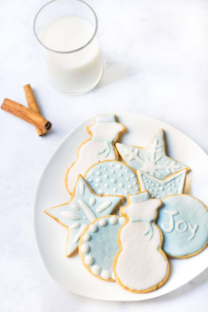French Christmas Cookies | Mon Petit Four