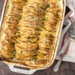 Cheesy Garlic Herb Scalloped Potatoes