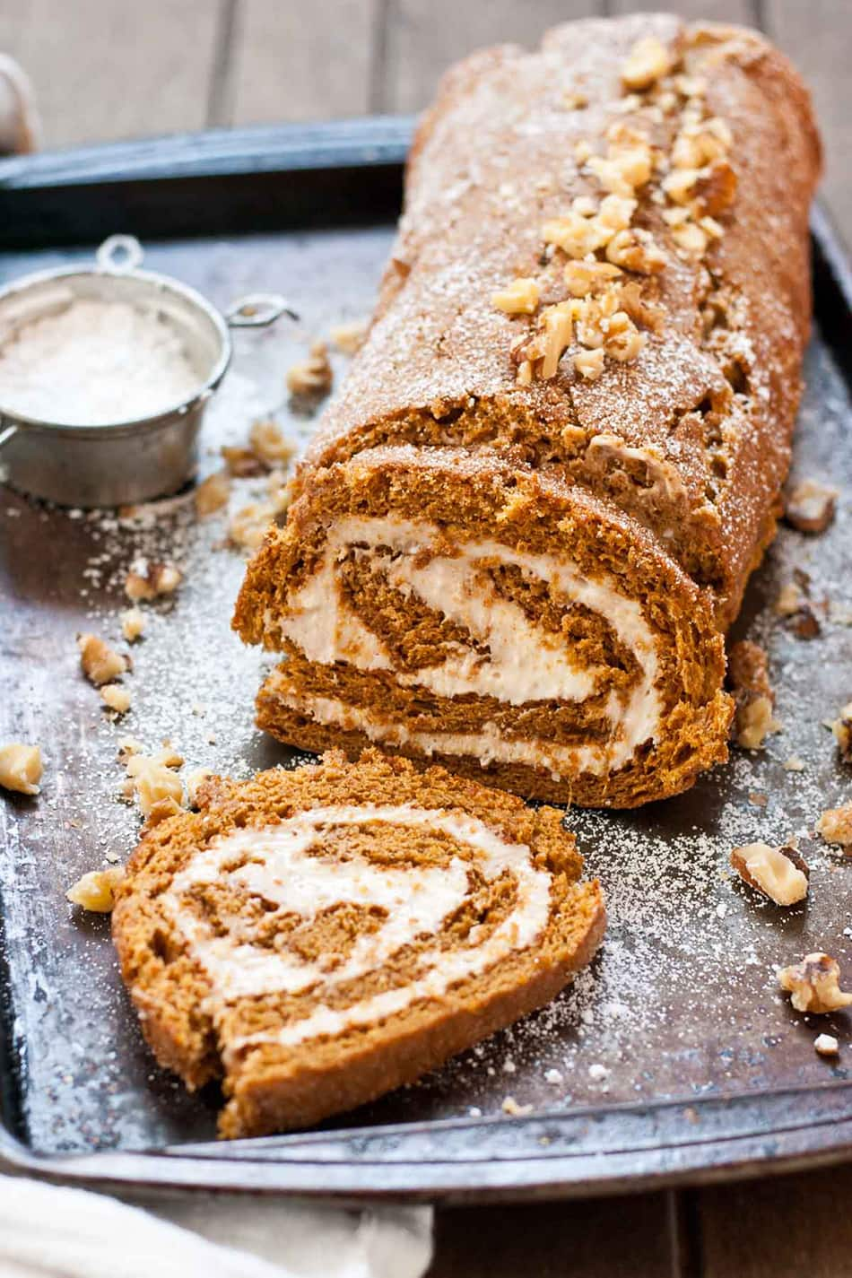 Gingerbread Cake Roll | Neighbor Food
