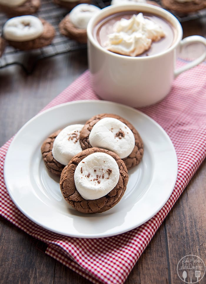 Hot Chocolate Cookies | Like Mother, Like Daughter
