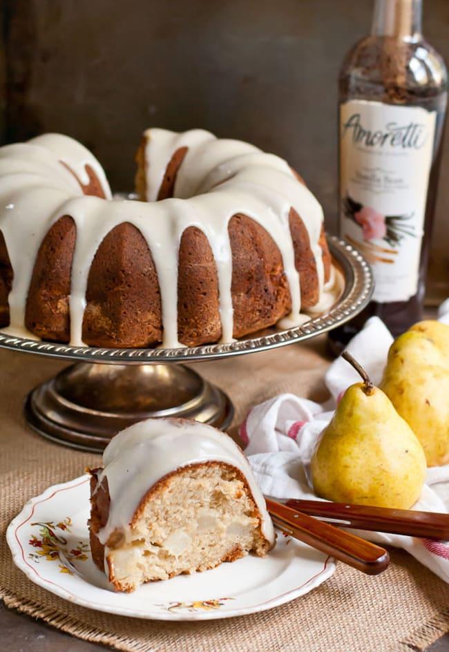 Pear Bundt Cake with Brown Butter Glaze | Neighbor Food