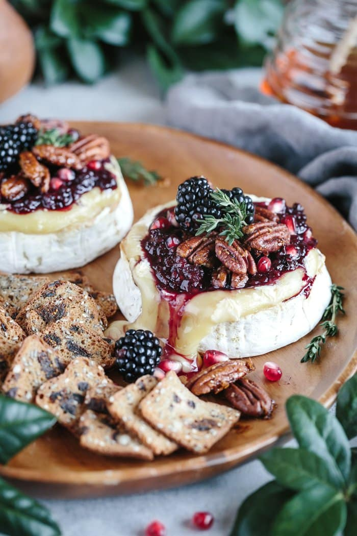 Blackberry Compote Spicy Pecan Baked Brie | Foolproof Living