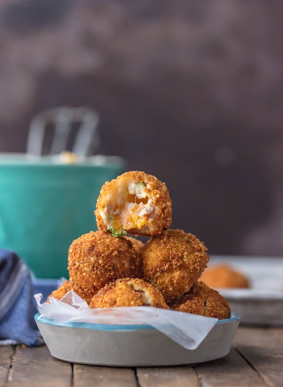 Loaded Deep Fried Mashed Potato Bites | The Cookie Rookie