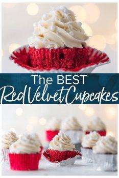 red velvet cupcake pinterest image