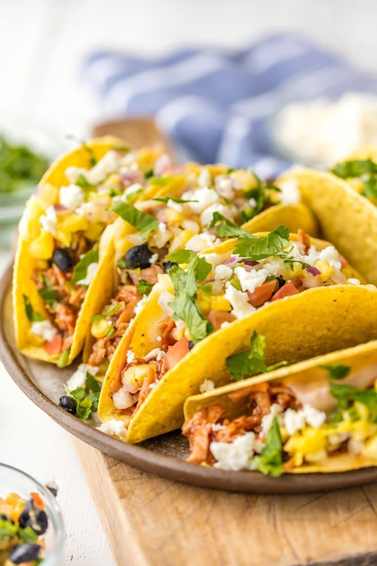 Taco Dinner Idea: Honey BBQ Tacos