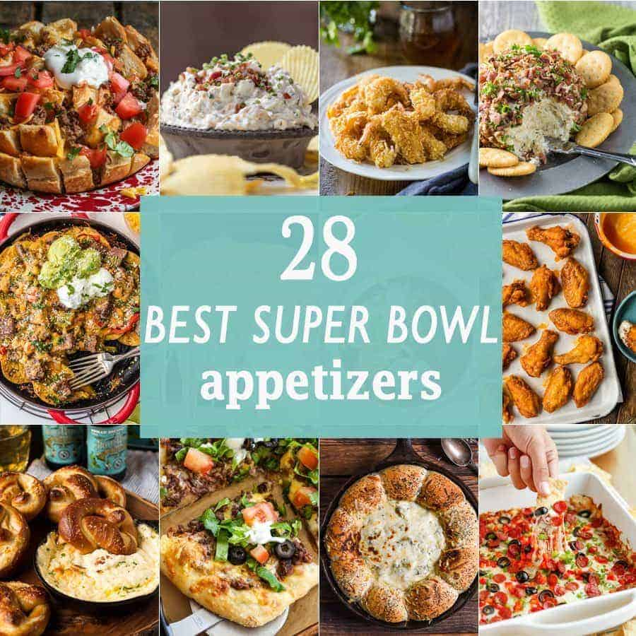 18 BEST SUPER BOWL APPETIZERS! The best Super Bowl appetizers perfect for tailgating! Dips, wings, nachos, and everything in between!