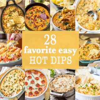 10 Favorite Easy Hot Dips