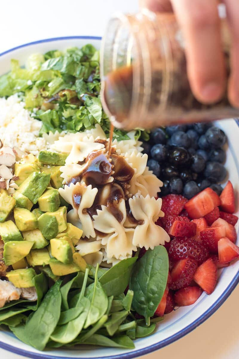 Chicken Berry Pasta Salad | From Valerie's Kitchen