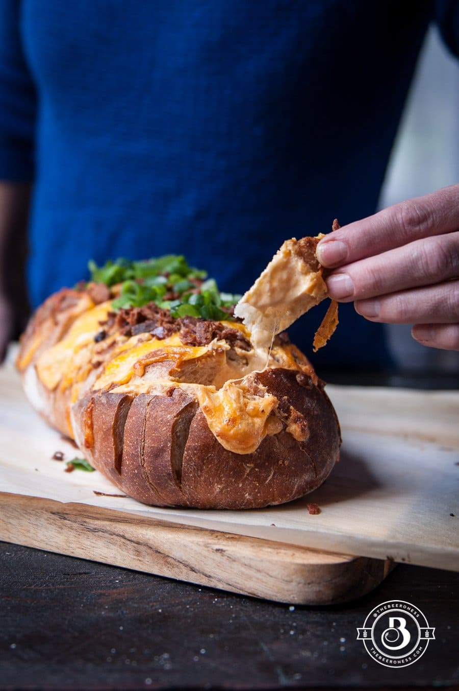 Easy Beer and Bacon Pull Apart Loaf | The Beeroness