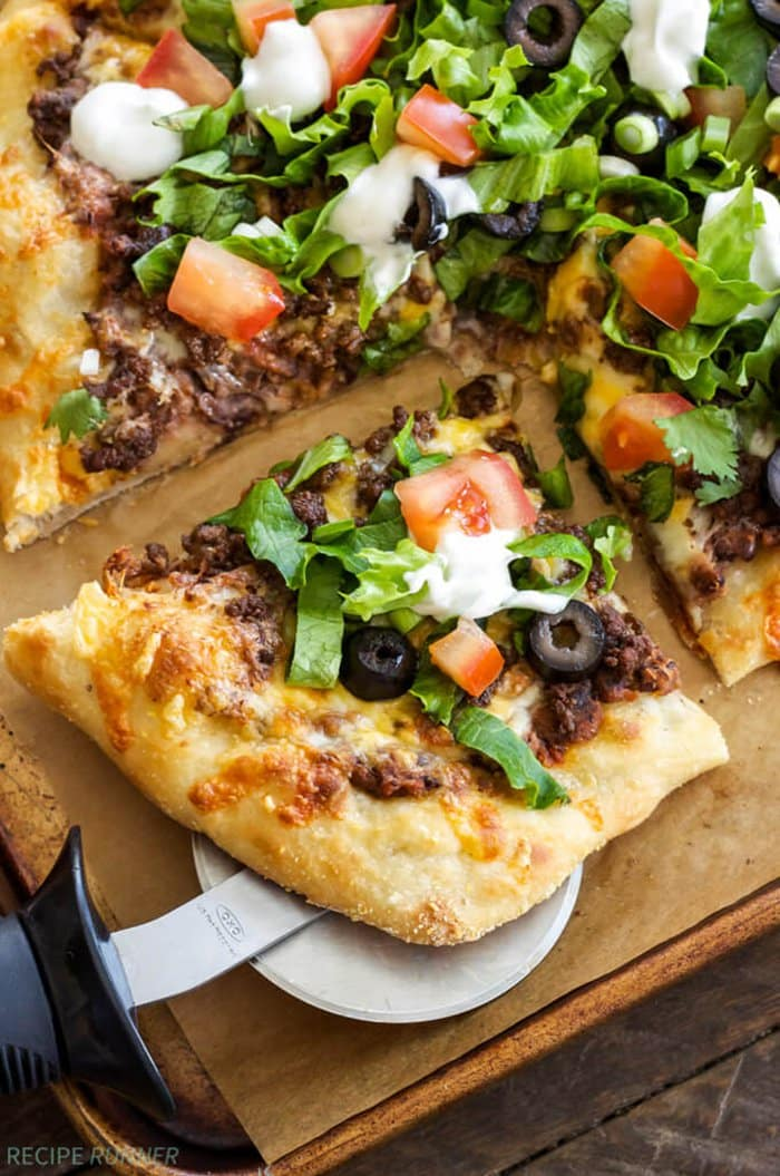 Taco Pizza | Spoonful of Flavor