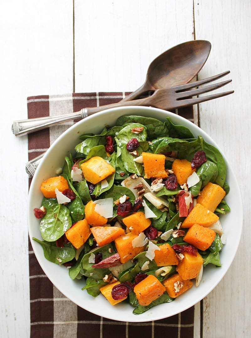 Autumn Butternut Squash Salad | The Little Epicurean