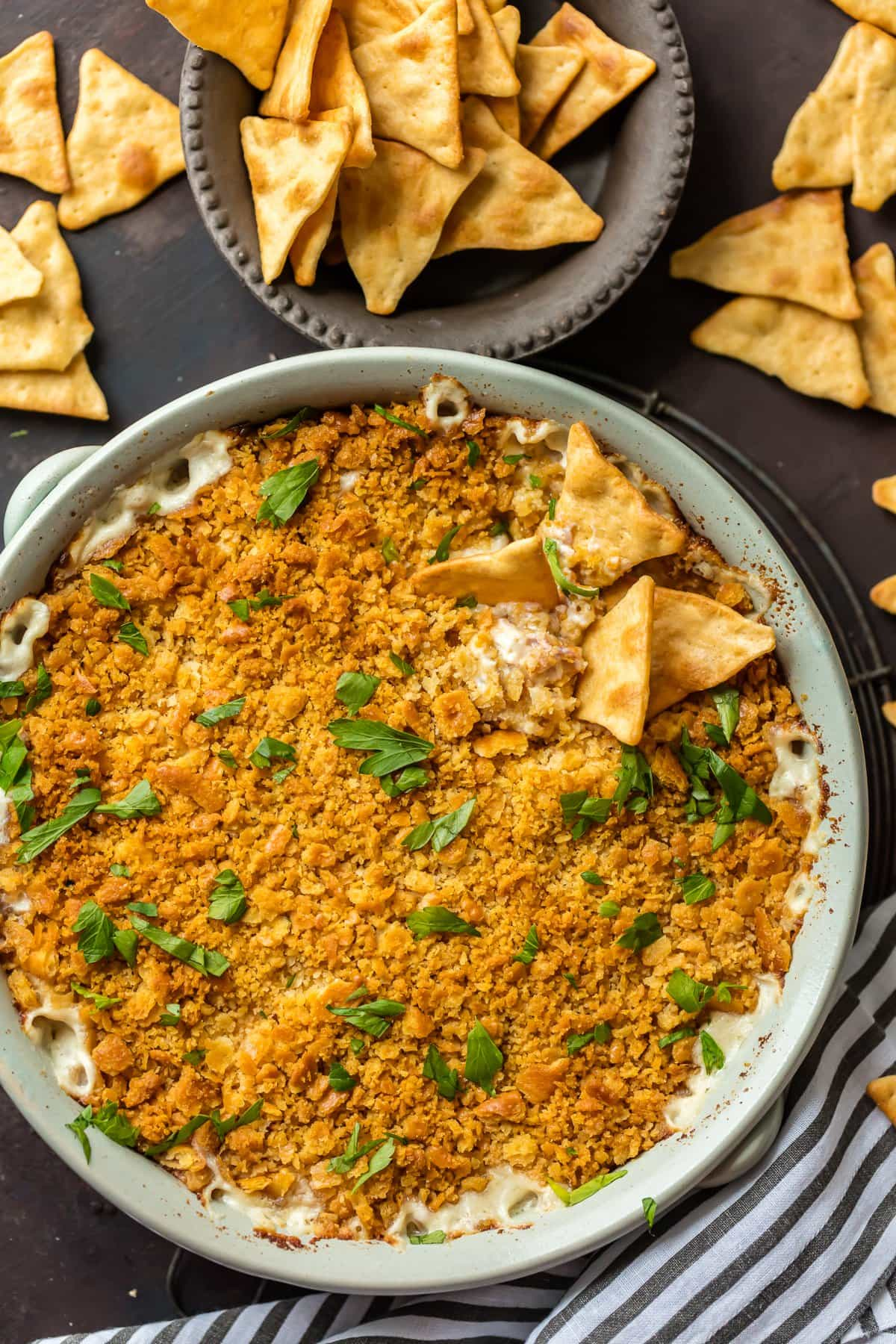 Baked Chicken Cordon Bleu Dip
