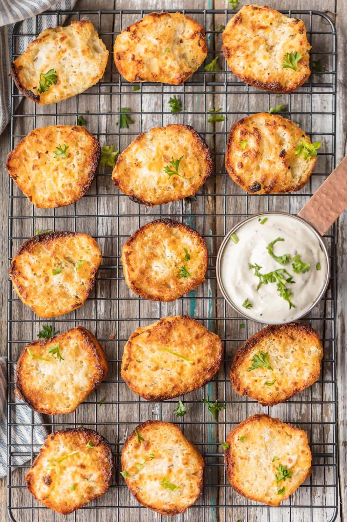 These EASY RANCH DIP BISCUITS are the ultimate savory side. These Ranch Biscuits are oh so easy and oh so tasty. Once you make them, you'll be making them for years!