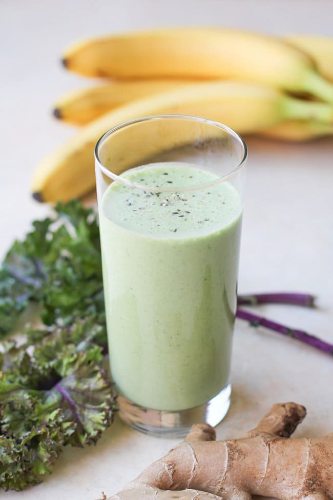Healthy Gut Smoothie | The Roasted Root