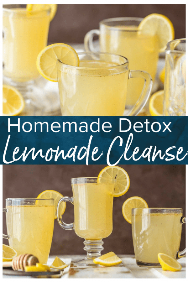 This Homemade Detox Lemonade Cleanse recipe is the perfect way to start the New Year. Achieve those resolutions with this easy and delicious spin on the Master Cleanse recipe! This warm lemon detox recipe tastes great, is super simple, and will get you ready for Summer any time of year!