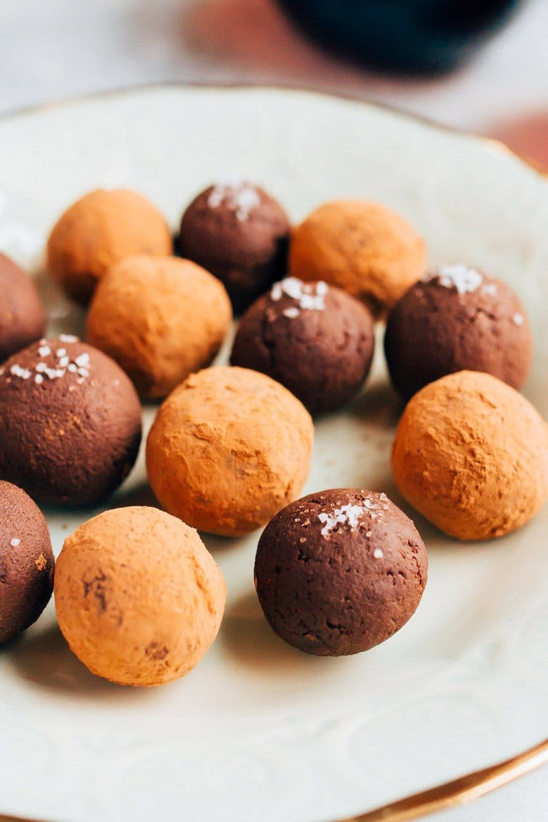 4 Ingredient Chocolate Avocado Truffles | Eating Bird Food
